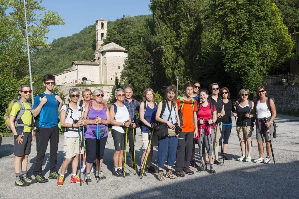 vacanza a piedi Valnerina con Metaitalia360